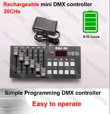 Rechargeable mini DMX controller battery stage performance Dimmer dmx512 Console