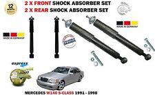 Pour Mercedes Classe S W140 1991-1998 2x AVANT + ARRIÈRE 2X Amortisseur Choquant