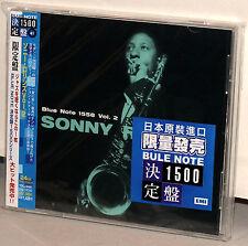 BLUE NOTE CD TOCJ-6441: SONNY ROLLINS - Volume 2 - OOP JAPAN 2004 OBI BRAND NEW