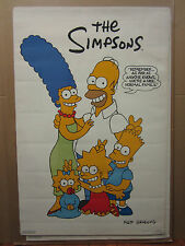 vintage The simpson Nice normal family poster 1990 original 2383