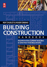 Building Construction Handbook, Acceptable, Roy Chudley, Roger Greeno BA(Hons.)