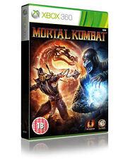 Mortal Kombat (Xbox 360) beat 'em up. Manuel Inclus. LIVRAISON GRATUITE