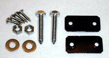New! 1964-1967 Ford MUSTANG Bucket Seat Adjusting Bolts Plates Kit Both Seats