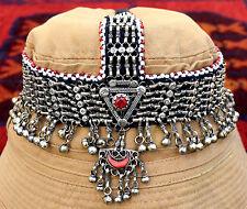Afghan Kuchi Headpiece Tribal Head Dress Piece Ethnic Headdress Gypsy Boho Band