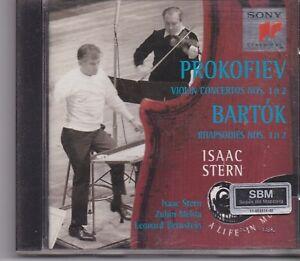 Isaac Stern-Prokofiev cd album