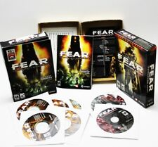 F.E.A.R. FEAR First Encounter Assault Recon + Extraction Point PC 2005 Box Sets