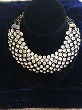 Zara style Clear diamond Choker Statement Necklace Jewellery set Perfect gift