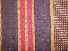OSBORNE AND LITTLE  Lorca Amerindia Zuni Red/purple/gold stripes new remnant