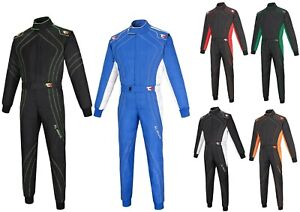 New Adult Karting Suit Go-Kart Suit Cordura Overall One Piece Suit 2 Layer Suit