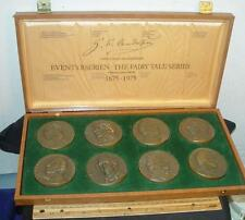 1975 Hans Christian Anderson Century Bronze Fairy Tale Series Medal Collection !