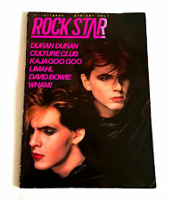 Rock Star Vol.1 Japan Photo Book 1984 w/Flexi Duran Duran Bowie Wham Kaja Goo