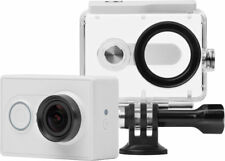 YI! White Action Camera with Underwater Case 16MP HD Sport Similar to GoPro