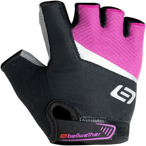 Bellwether Ergo Gel Gloves - Fuchsia, Short Finger, Women's, Small