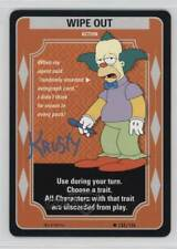2003 The Simpsons: Trading Card Game Base #133 Wipe Out Gaming 1t5
