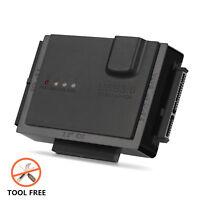 "USB 3.0 HD Hard Drive HDD Disk SATA External Enclosure Case Cover Box 2.5""-5.25"""