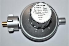 50-200mbar GOK Druckregler 11 Stufen Gasregler Druckminderer verstellbar 1,5kg/h