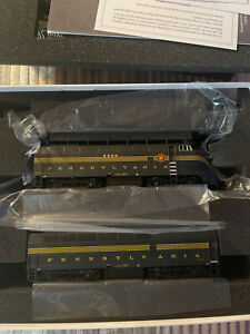 Broadway limited ho PRR Sharknose P3 Brand new A/B Set Unpowered B DCC/DC