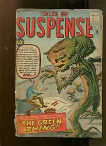 TALES OF SUSPENSE #19 (2.0) THE GREEN THING! 1961