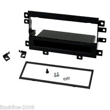 CT24SZ08 SUZUKI XL7 2003 to 2006 BLACK SINGLE DIN FASCIA ADAPTER PANEL