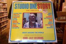 Studio One Story 2xLP sealed vinyl + download Soul Jazz