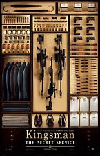 KINGSMAN CLOSET 11X17 Movie Poster collectible NEW CLASSIC