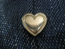 in Gold tone metal 1½ ins wide Lovely Variety Club of Great Britain heart badge