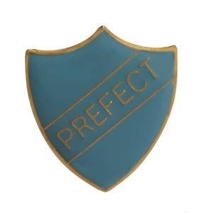 Prefect Pale Blue Pin Badge For Schools