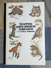 Trapping North American Furbearers by Stanley Hawbaker 1974 Softcover Vintage