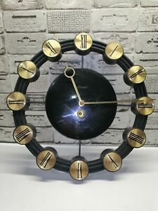 Vintage Wall Mechanical  Clock Mаyak USSR