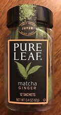 Pure Leaf Matcha With Ginger Sachets, 12 Ct (0.4 oz)NEW