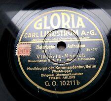 1369/FRIEDRICH AHLERS-Viktoria-Marsch mit Locken-Steinmetz March-78rpm Schellack