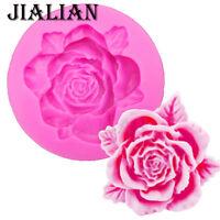 Rose Silicone Mould Cake Cupcake Decoration Mould Icing *UK Seller*