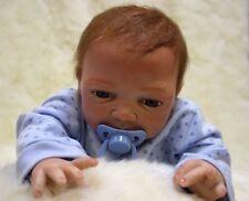 18'' Reborn poupée garçon Lifelike nouveau-né Faux bébé enfant anniversaire noël