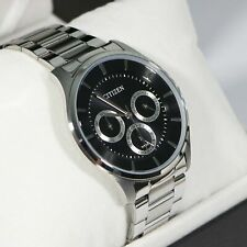 Citizen Men's  Silver Stainless Steel Quartz Watch AG8351-51E