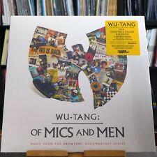 Wu-Tang Clan - Wu-Tang: Of Mics And Men / EP (MSAP0081LP) yellow, US