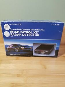Radio Shack Micronta Road Patrol XK 22-1623 Radar Detector