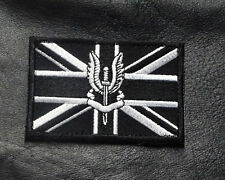 SAS BRITISH UK ARMY SPECIAL AIR FOCES TACTICAL MORALE HOOK PATCH (SA2)