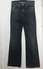 7 For All Mankind Charlize Flare Wash Jeans Blue Women Sz 29 Inseam 31 FREE SHIP