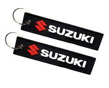Suzuki doppelseitiger Schlüsselanhänger