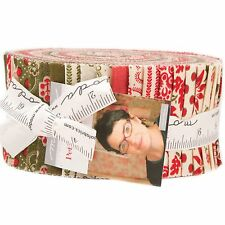 Petites Maisons de Noel Jelly Roll by French General for Moda Fabrics
