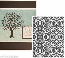 Holidays embossing folders CHRISTMAS QUILT snowflakes folder Couture Creations