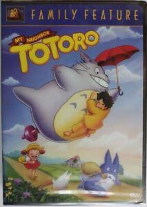 My Neighbor Totoro (DVD, 2002) Brand New! USA FORMAT / NTSC / Fox ORIGINAL DUB