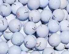 100 TITLEIST, NIKE, SRIXON & TOP BRAND GOLF BALLS (Grade 1) + 50 WOODEN GOLF TEE