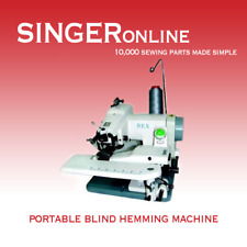 Blind Hemming Machine - Commercial