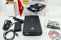 IOMEGA 48x24x48x CD-RW USB 2.0 External Drive for PC & Mac, CD Read/Write Drive