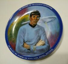 "1983 Star Trek Collector Plate ""Spock"" Plate Number 6193"