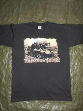 """Panzer Militär Armee """"Ran an den Feind""""T-Shirt M T-Shirt Wehrmacht Panzer"""