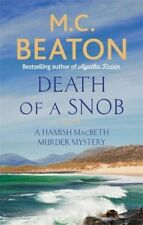 M C Beaton __ Death De A Snob ___ Boutique Souillé B Format __ Envoi GB