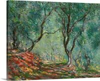 Olive Trees in the Moreno Garden, 1884 Canvas Wall Art Print, Tree Home Decor