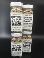 VALUE 4 PACK. Trader Joe's Everything But the Bagel Sesame Seasoning Blend